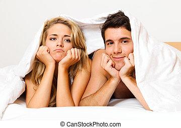 divórcio, par, problemas, crisis., tem, separações