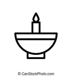 diva  thin line icon