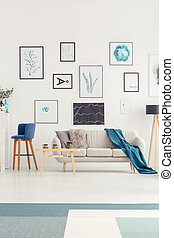divano, galleria arte