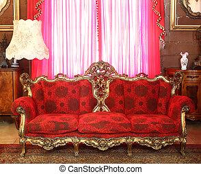 divano, lussuoso