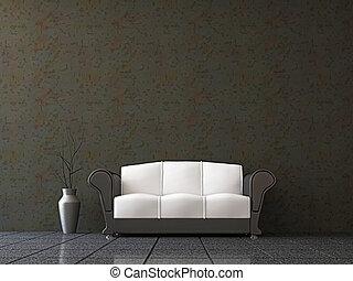 divano, vaso