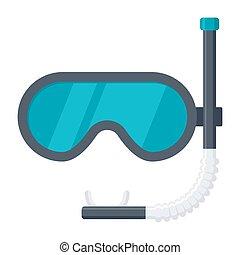 Dive Mask Icon