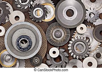 divers, photo, métal, locksmithing., journalier, outils, réparation, work.