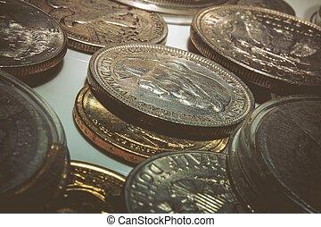 divers, pièces, collectable