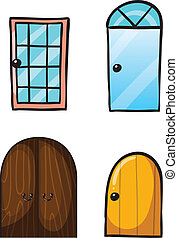 divers, portes