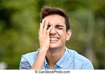 Diverse Boy Laughing