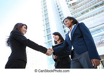 Diverse Business Woman Team