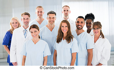 Diverse Group Of Doctors