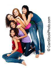 Diverse Teenagers - A group of teenagers with diverse ...