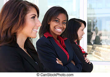 Diverse Woman Business Team