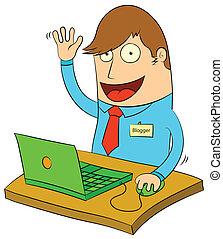 diversión, blogging