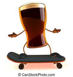 diversión, cerveza