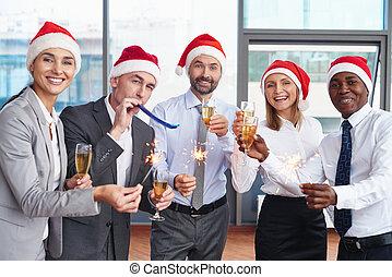 diversión, navidad