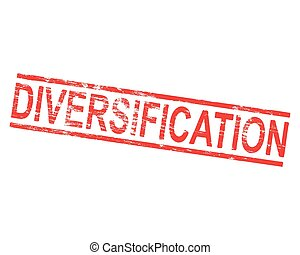 Diversification Rubber Stamp