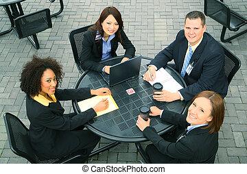 diversità, persone affari