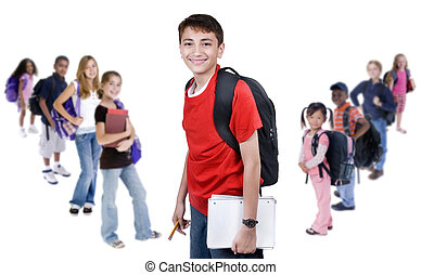 diversité, dans, école