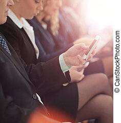 Diversity Business People Connection Digital Devices Browsing Co