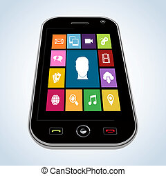 Diversity mobile application people