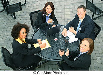 Diversity Of Business People