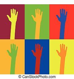 diversity of hands