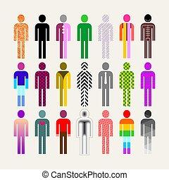 Diversity of People vector illustration