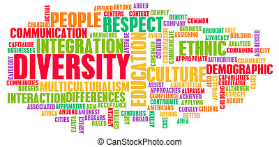 Diversity in Culture and People as a Concept