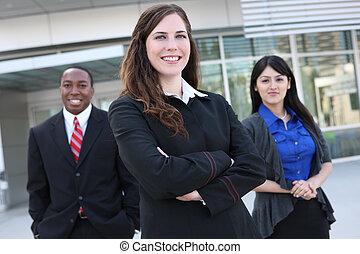 diverso, ufficio affari, squadra