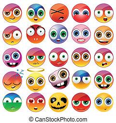 divertido, emoji