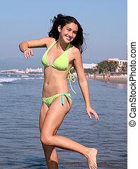 divertimento, praia