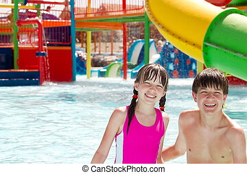 divertimento, waterpark