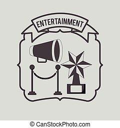 divertissement, concept, conception