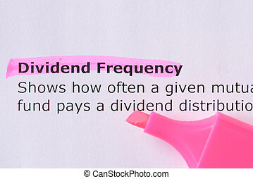 Dividend Frequency