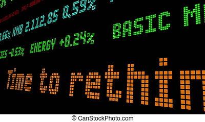 dividenden, rethink, aandeel, tijd