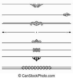 Dividers - Set of eight dividers