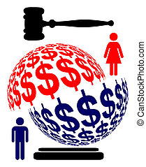 Dividing Marital Assets - When married couple separates the...