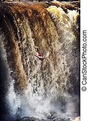 Diving Falls