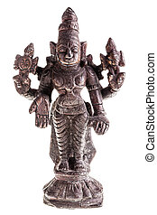 Divinity statuette - an ancient indian divinity statuette...