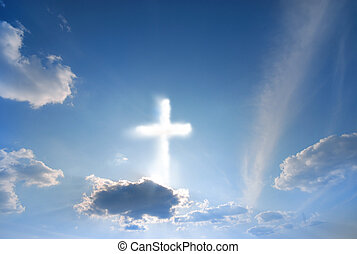 divino, fenómeno, en, el, cielo