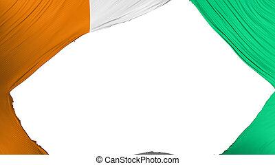 divisé, cote, drapeau, divoire