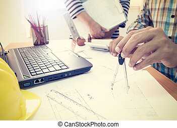 diviseurs, construction, projet architecte, fonctionnement