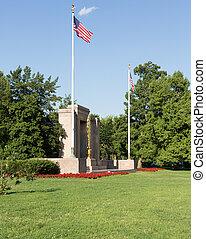 division, seconde, washington, commémoratif, dc