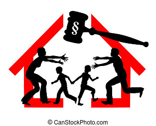 Divorce and Custody - Court dealing with division of ...