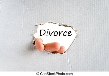 divorce, concept