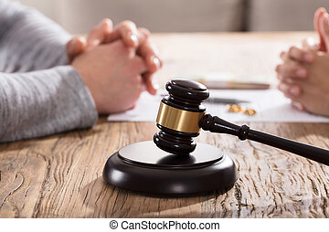 Divorce Concept With Gavel