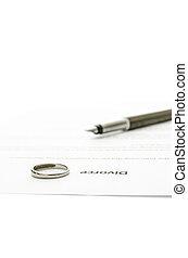 divorce, pétition