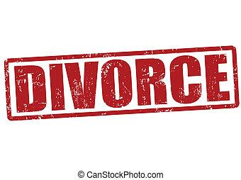 Divorce stamp
