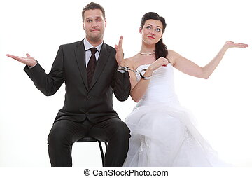 Divorcio, pareja, concepto,  crisis, relación