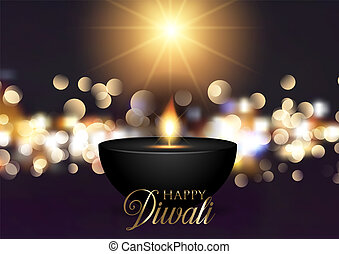 diwali background with bokeh lights 1909