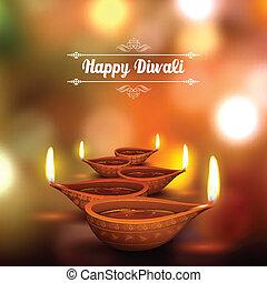 diwali, feiertag, hintergrund