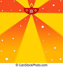 Diwali festival - Indian diwali festival illustration